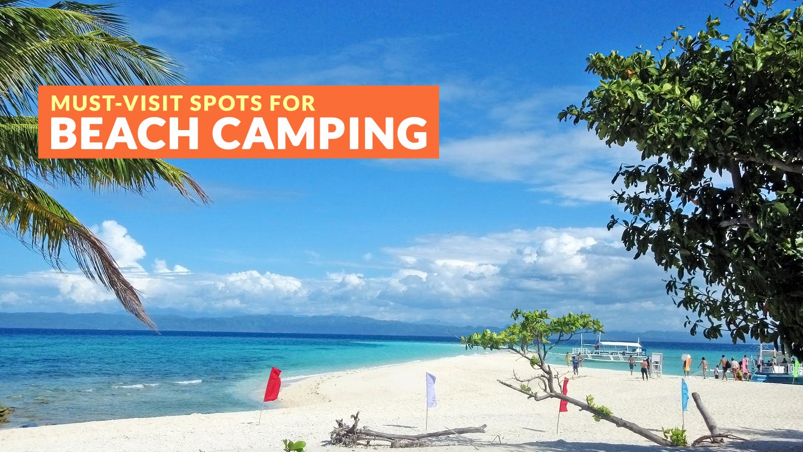 WHERE TO GO BEACH CAMPING IN THE PHILIPPINES - Philippine