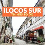 10 Tourist Spots for Your ILOCOS SUR ITINERARY