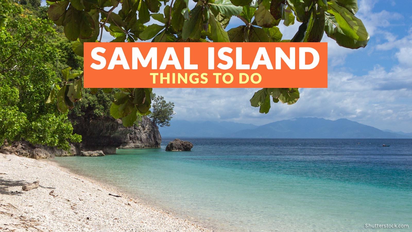 Island city samal davao HOW TO